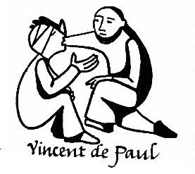 Vincent de Paul and injured man